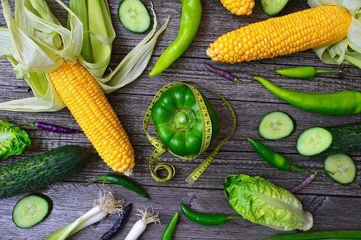 weight loss by eating corn at night