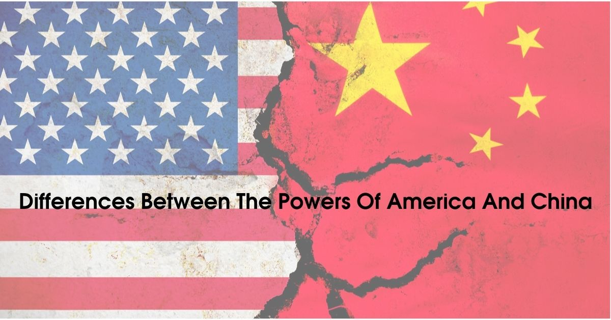 difference between the powers of american and china