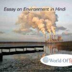 Essay on Environment in Hindi | पर्यावरण पर निबंध हिंदी में